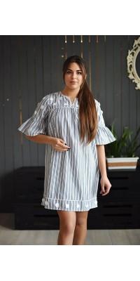 Плаття смугасте  В19-4