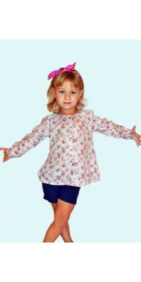 Блуза дитяча з трояндами