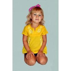 Блуза дитяча з вишивкою