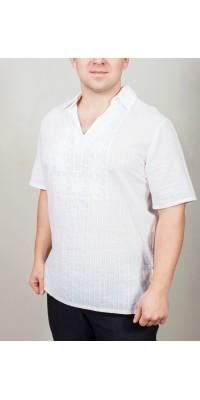 Сорочка чоловіча вишита з коміром 864