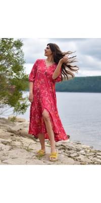 Плаття рожеве W-2