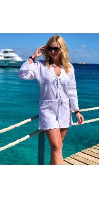 Туніка-плаття 2483 біла