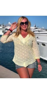 Блуза жовта 992