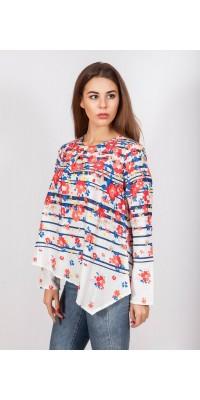 Блуза з квітами