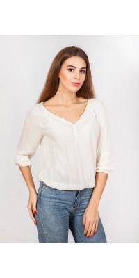 Блуза кремова LS_3