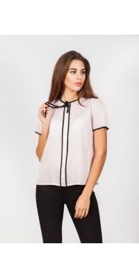 Блуза класична кольору пудри