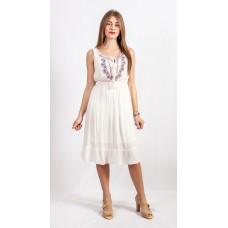 Плаття 17-592 біле