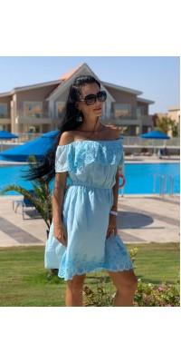 Плаття блакитне 5104