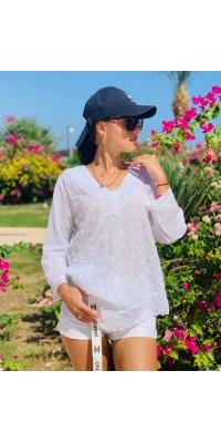 Блуза біла 992