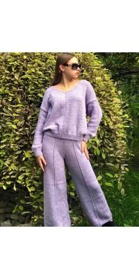 Костюм брючний вязаний