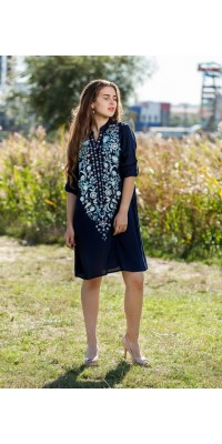 Туніка-плаття W-013